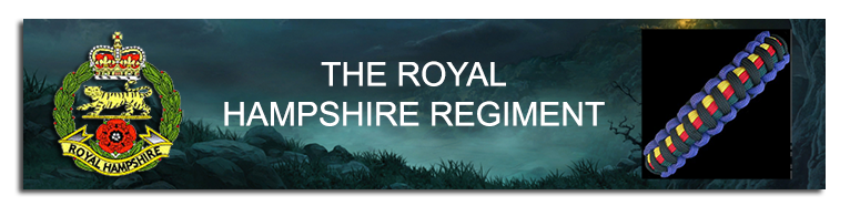 Link to The Royal Hampshire Regiment