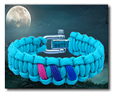 Click for gay pride paracord braclets
