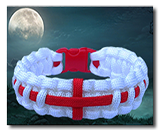 Click for patriotic paracord bracelets